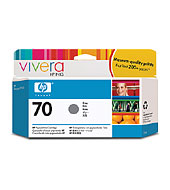 HP 70 Gray 130ml Ink Cartridge