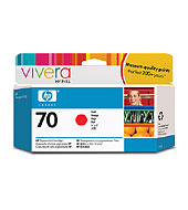 HP 70 Red 130ml Ink Cartridge